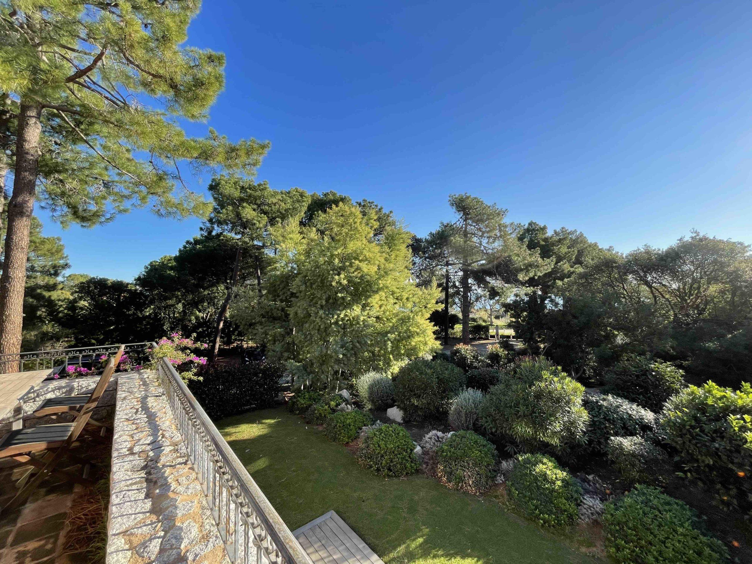 Location villa de charme piscine Porto-Vecchio pinarello Corse du sud plage sainte lucie de Porto Vecchio 4 chambres jardin style bergerie Costa Stellata
