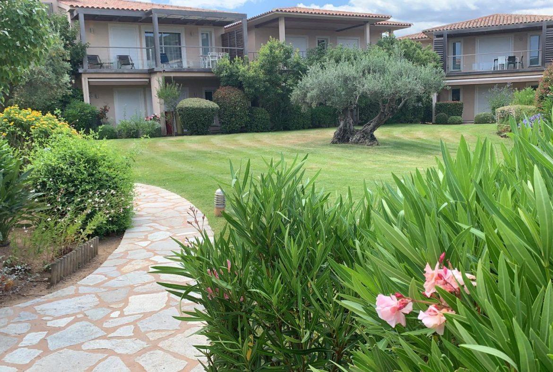 Location appartement de vacances Porto-Vecchio, plage de pinarello à pied, résidence de standing, bel appartement, proches commerces