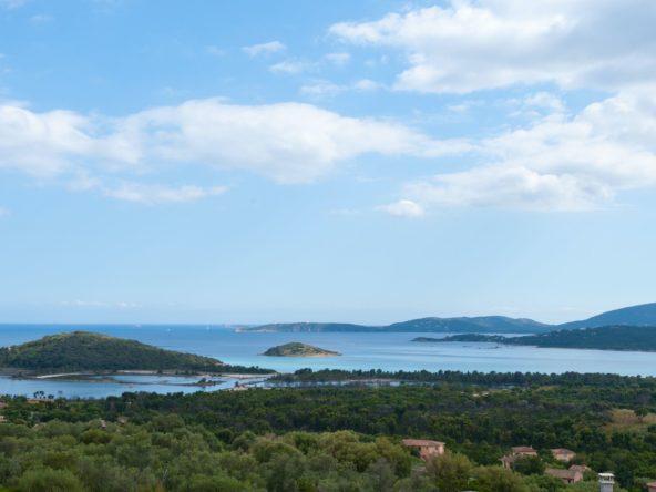 Location Villa Porto-vecchio luxe sud Corse prestige piscine vue mer proche plage, Palombaggia Cala Rossa domaine privé moderne luxe